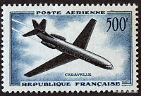 FRANCE STAMP TIMBRE AERIEN Yt 36  CARAVELLE 500F 1957 NEUF LUXE  44M55