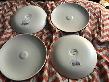 Lot Of 4x Nwt  Calvin Klein Basso Bone  Saucers - Approx. 6.5 Inches in diameter