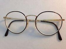 b895df42a6a LIZ CLAIBORNE C-500 50-18-145 Turtle Gold Metal Eyeglasses Frames