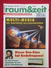 Die tabuisierten Forschungen des Krebs-Spezialisten von Brehmer - raum&zeit 85