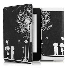 kwmobile Flip Tasche für Amazon Kindle Paperwhite Pusteblume Love Kunstleder