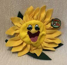 "8"" Plush Garden Babies Sunny Sunflower 1998 NWT"