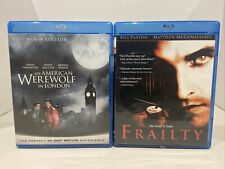 Horror Blu Ray Lot( An American Werewolf in London & Frailty ) Paxton Matthew