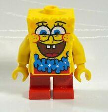 Lego Spongebob SPONGEBOB Minifigure BOB036 Blue Lei Bikini Bottom 3818