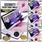 Lot of 2 Security Credit Card Wallet RFID Scan Blocking Protection Aluminum
