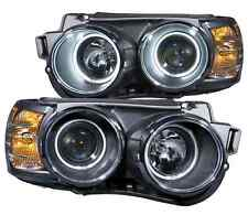 Anzo 121488 Set of 2 Black Projector Headlights w/ Halos for Chevrolet Sonic
