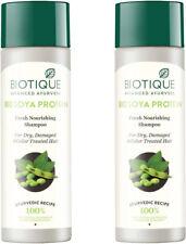 BIOTIQUE protéines de soja shampooing pour cheveux abîmés, secs ou colorés 190ml