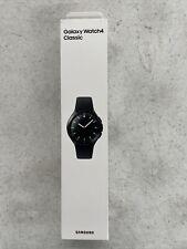 Samsung Galaxy Watch4 Classic 45.5mm Black Stainless Steel Case, Black Stainless Steel Band, Smartwatch (SM-R890NZKAXAA)