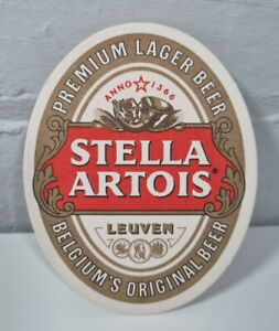 25 STELLA ARTOIS BEER MATS COASTERS - BEER LAGER PUB MAN CAVE