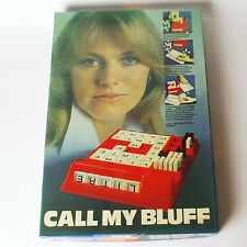 Call My Bluff (Vintage Logic Game, 1974 Mind Movers) Complete - Mastermind Style