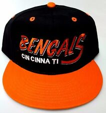NEW! NFL Cincinnati Bengals Embroidered Adjustable Snap Back Cap
