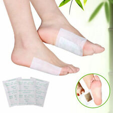 10 Golden Detox Foot Pads Patch Detoxify Toxins Adhesive Keeping Fit Health Care