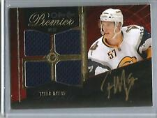 Tyler Myers 09/10 OPC Premier Autograph Game Jersey Rookie #209/299