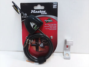 CODYCO OVERBEND BRACKET & MASTER PYTHON 6' CABLE LOCK FITS PELICAN ELITE COOLER