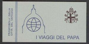 Vatican City #MiMH2 MNH Booklet CV€12.00 1984 Papal Journeys John Paul II [743a]