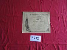 N°9478  / prospectus aspirateur de poussiére Thomson