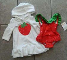 Size 3-6 months swimsuit set Gymboree,2 pc. swimsuit,swimsuit cover-up,2 pc. set