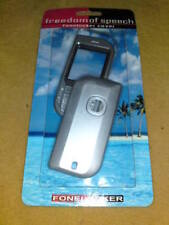 SILVER MOBILE PHONE COVER - NOKIA 5670