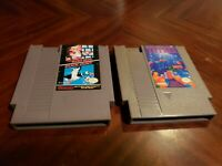 Super Mario Bros/Duck Hunt  & Tetris (Authentic) (Nintendo, NES) 2 GAMES