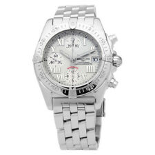 Breitling Windrider Chrono Cockpit Mother of Pearl Dial Mens Watch