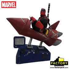 Factory Ent. - Marvel: Deadpool Rocket Ride Premium Motion Statue
