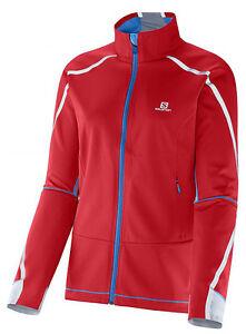 Softshell Jacket Salomon Equipe Vision Jnr Jacket, Children, Youth, Junior, Red