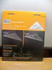 New Schluter Systems Shelf-E Ses1D5Mgs Triangular Corner Shelf Floral Black