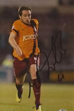 Bradford: Matthew Dolan firmado 6x4 foto de acción + certificado De Autenticidad
