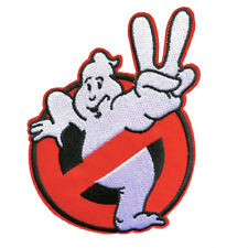 """Ghostbusters Movie 2 II Cartoon Kids Embroidered Iron Sew On Patch 3.5""""X3.8"""""""