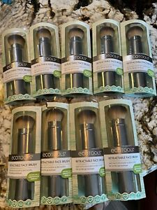Ecotools Retractable Face Brushes Lot Of 9
