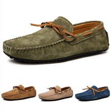 38-49 Men Driving Gommino Moccasins Shoes Slip on Loafers Flats Pumps Breathable