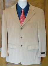 NWT La Crosse Khaki Beige Safari Bush Blazer Jacket Sport Coat 38R 38 R FS!
