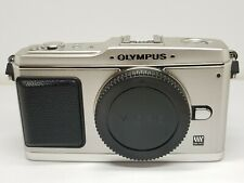 Olympus PEN E-P1 Mirrorless Micro 4/3 12.3MP Digital Camera - Silver (Body only)