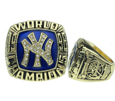 NEW YORK YANKEES 1996 WORLD SERIES CHAMPIONS REPLICA RING SGA WITH POUCH