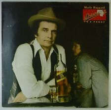 "12"" LP - Merle Haggard - Serving 190 Proof - k5781 - washed & cleaned"