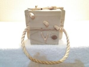 handmade welsh driftwood and pine rope towel ring and free driftwood light pull