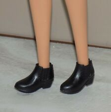 BLACK MARY JANE SHOES HEELS FITS LIV FLAT FOOTED BARBIE DOLLS MC2 HERMIONE