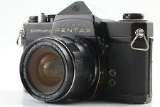Exc+5 Asahi Pentax Spotmatic SP Black w/ SMC Takumar 28mm f/3.5 From Japan #113