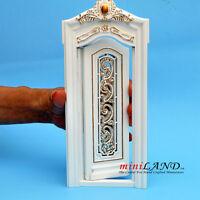 Left end column 1pc Royal Paneling line White Dollhouse miniature 1:12 DIY part