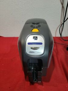 ZEBRA ZXP SERIES 3 THERMAL ID CARD PRINTER *Untested*