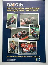 Gregorio Lavilla and Leon Haslam Unsigned BSB Champions Poster.