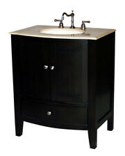 30-Inch Contemporary Style Single Sink Bathroom Vanity Model 4512-30 Be