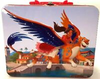 Disney Channel Elena of Avalor Tin Lunchbox  Princess & Skylar Metal Container