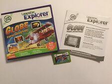 Leapfrog Leapster Explorer Juego Globo aventuras de tierra + Caja completa de instrucciones