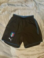 PUMA pants pantaloncini Nazionale italiana calcio Confederation Cup 2009 size S