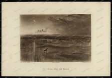 Druck-Stahlstich-Engraving-W.Turner-J.Ruskin-T.Lupton-Dawn after the wreck-62