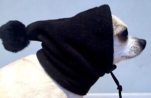 Chihuahua Pom Pom Hat. Dog Hat