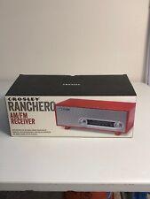 New in Box Crosley Ranchero Tabletop Radio (Red)
