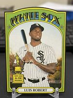 2021 Topps Heritage Luis Robert Rookie Cup Die-Cut #72DC-14 Chicago White Sox