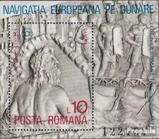 Roemenië Block146 postfris 1977 Donau-Navigatie